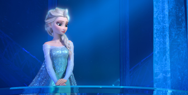 57 percent of the dialogue comes from male characters in Frozen. Photo / DISNEY