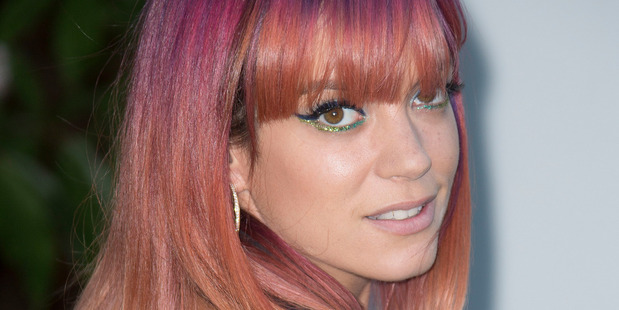 Lily Allen was stalked for seven years. Photo / AP