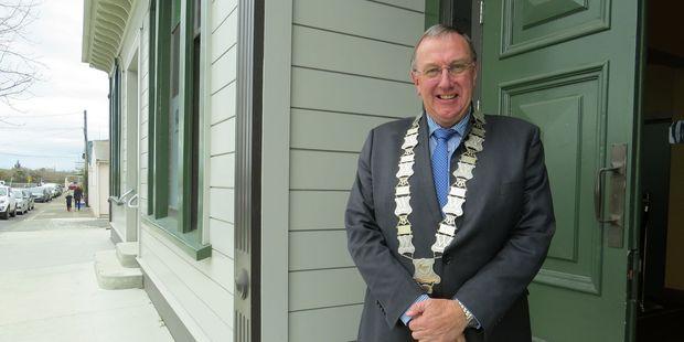 STANDALONE?: Mayor Peter Butler.