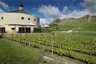 The Craggy Range Winery in Hawkes Bay.