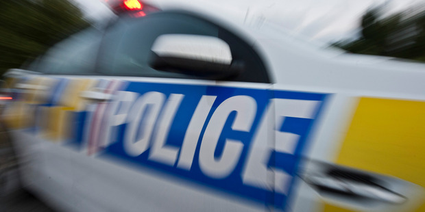 Police attended the scene of a car crash on Karamu Rd this afternoon. PHOTO/File