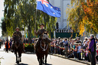 REMEMBRANCE: A host of events are planned this week to mark the centenary of World War I, similar to last year's military parade for the Hastings Anzac mid-morning service. PHOTO/File