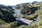Proposed site of the Ruataniwha Dam.