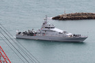 HMNZS Hawea, one of the New Zealand Navy's four inshore patrol vessels. Photograph by Duncan Brown.