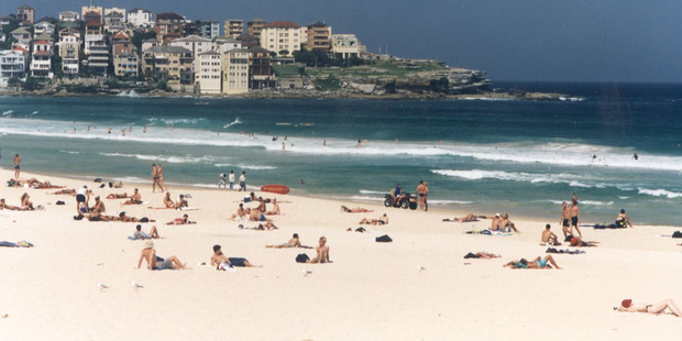 Tourists may love Bondi Beach but some are very unimpressed. Photo / Martin Sykes