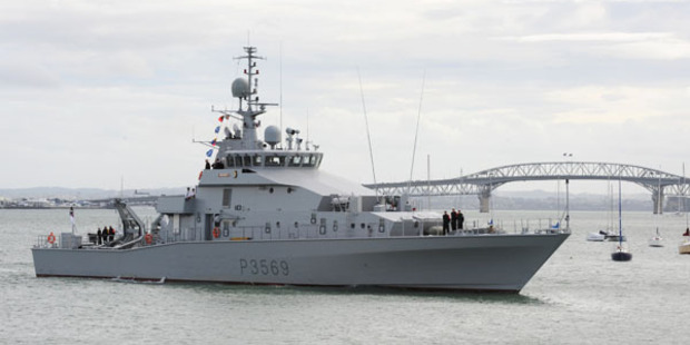 HMNZS Rotoiti will return to its birthplace - Whangarei - today and will be open to the public tomorrow.