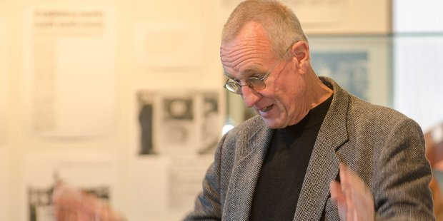 "Pat McKenna, his contribution to Wairarapa music has been ""this big"". PHOTO/FILE"