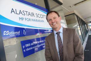 Wairarapa MP Alastair Scott.