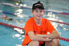 STARTING BLOCK: Michael Lansdown, of Havelock North, will be honing his skills with Olympians and elite swimmers in Auckland this weekend. PHOTO/Duncan Brown