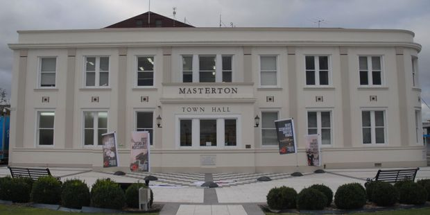 Masterton Town Hall and Municipal Building is being looked at by structural engineers. PHOTO/EMILY NORMAN