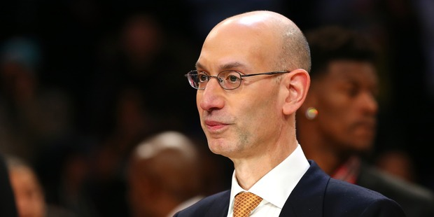 NBA commissioner Adam Silver during the 2016 NBA All-Star Game. Photo / Getty