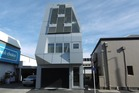 The 'stand-out' office building for lease next to Merivale shopping centre in Christchurch.