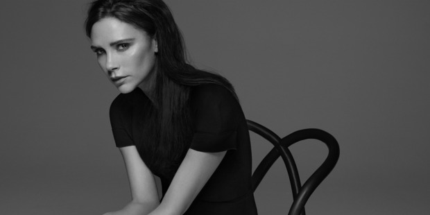 Victoria Beckham x Estee Lauder coming soon. Photo / Solve Sundsbo