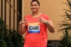 Valerie Adams will have extra cheering power in her corner at the Rio Games as she bids to become New Zealand's greatest Olympian.