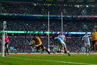 Australia and Argentina will face off in a Rugby Championship match at Twickenham this year. Photo / Getty