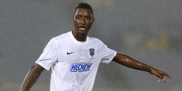 Joao Moreira scored again for Auckland City. Photo / Getty