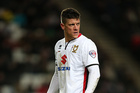 Alex Revell of MK Dons. Photo / Getty Images