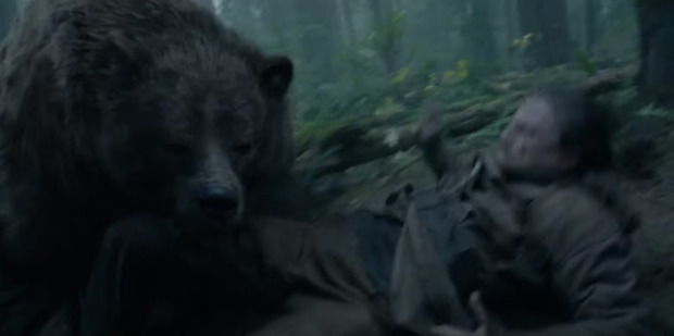 A scene from the movie The Revenant.