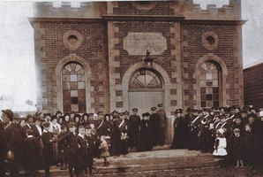 Dannevirke Salvation Army Hall opening on October 1, 1909 in High St.