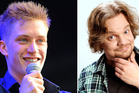 Comedians Daniel Sloss and Ismo Leikola. Photos / Getty Images, Supplied