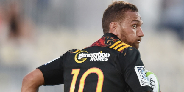 Aaron Cruden and the Chiefs are running away with the top seed. Photo / Getty