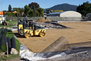 Work has started at the new site of the Rotorua Community Hospice.  Photo/Stephen Parker