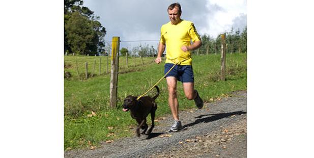 Dave Allen running with Poppy. Photo / Thinkstock