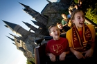 Riding Harry Potter's The Forbidden Journey becomes ten times more frightening with children. Photo / Universal Studios