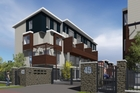 An artist's impression of the Mt Richmond Mews project, which was to have been built in Otahuhu.