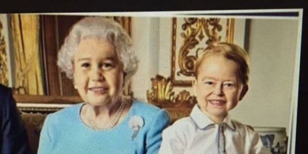 A youthful looking Queen and a totally demonic Prince; the results of a clever face-swap by Twitter user Jenny. Photo / @jennywhojenny