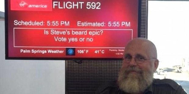 Is Steve's beard epic? Yes. Yes it is. Photo / rootbeer1, Imgur