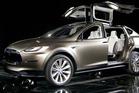 Tesla's Model X SUV. Photo / Bloomberg - Tim Rue