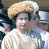 June 8, 1962: Queen Elizabeth II watching the Oaks Stakes at Epsom Downs in Surrey. Photo / Getty Images