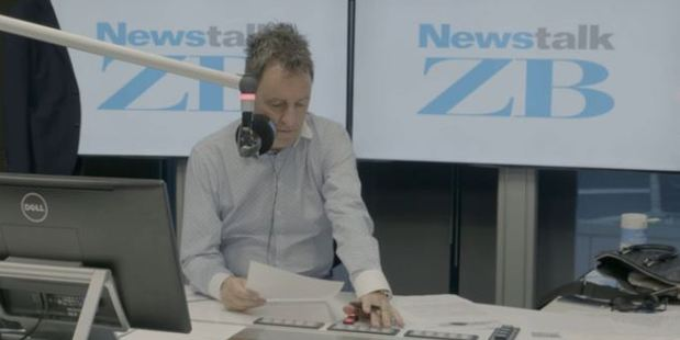 Mike Hosking - firm but fair or too harsh? Photo / Newstalk ZB