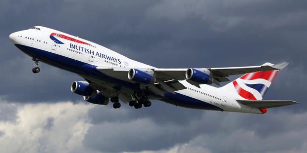 British Airways said the aircraft had 132 passengers and five crew on board. Photo / iStock