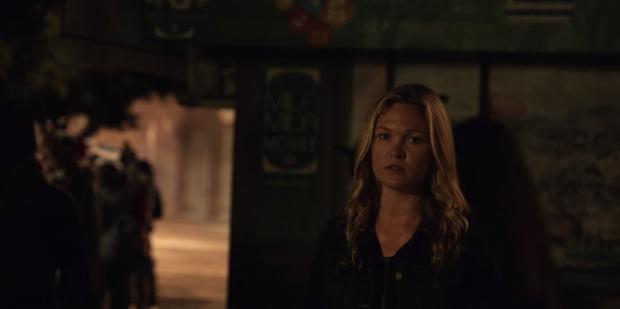 Julia Stiles in a scene from the new Jason Bourne movie.