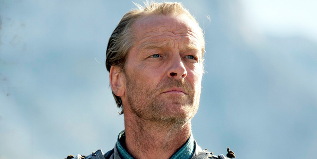 Is Iain Glen's Jorah Mormont the most likely to go? Photo / HBO