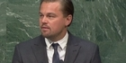 Watch: DiCaprio on climate change