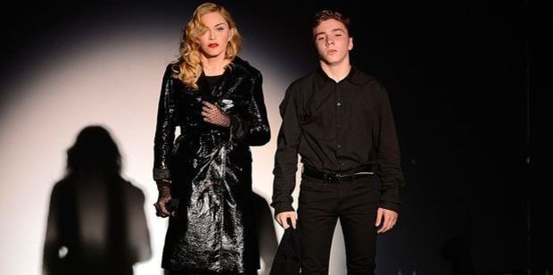 Madonna and Rocco. Photo / Getty Images
