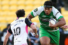 Prop Michael Alaalatoa in action for Manawatu against Wellington in the 2015 ITM Cup. Photo / Getty Images