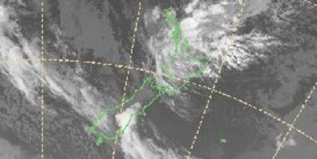 Showers are expected to clear, bringing sunny weather for much of the country. Photo / MetService