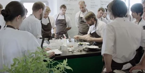Scene from Noma: The Perfect Storm.