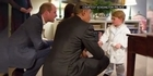Watch: Watch: Obama completes royal visit with Princes