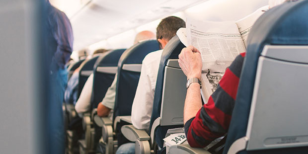 Reclining seats have been the flashpoint for many nasty in-flight encounters in recent years. Photo / iStock