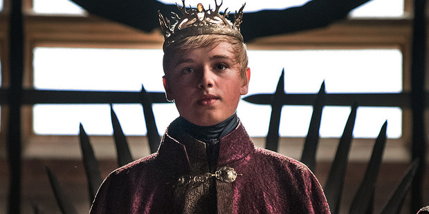 Tommen Baratheon played by Dean-Charles Chapman. Photo / HBO