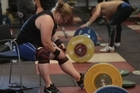 New Zealand weightlifters Tracey Lambrechs (75kg+) and Andrea Miller (63kg) compete to get a place at Rio.