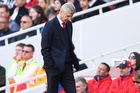 Arsene Wenger on the sideline of the Arsenal match against Crystal Palace on Monday (NZT). Photo / Getty Images