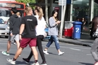 Many of us are guilty of it: texting, using Facebook or checking emails while crossing the road. Photo / Michael Craig