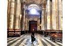 Patricia Greig at to Catedral Nueva. Photo / Supplied