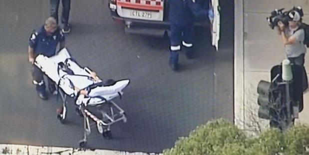 Loading Channel Nine footage from the shooting at Bankstown Central Shopping Centre.